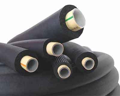 ضخامت های عایق های الاستومری برای لوله ها در شرایط مختلف